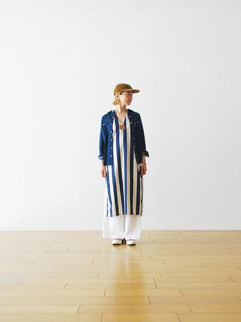「BLUE BLUE (ブルー ブルー)」から、軽快でカジュアルなデニムのウェスタンシャツが登場。本物と思わせるディティールに凝ったデザインがおしゃれ心を刺激します。ウェスタンだけじゃなく、スポーツ、ワーク、マリン...色んなテイストに挑戦したくなる一着です。