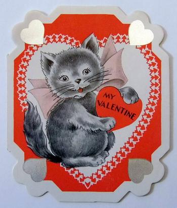 黒猫のお守りや黒猫のイラストが入ったバースデーカードなど様々な黒猫をモチーフにしたアイテムがあります。