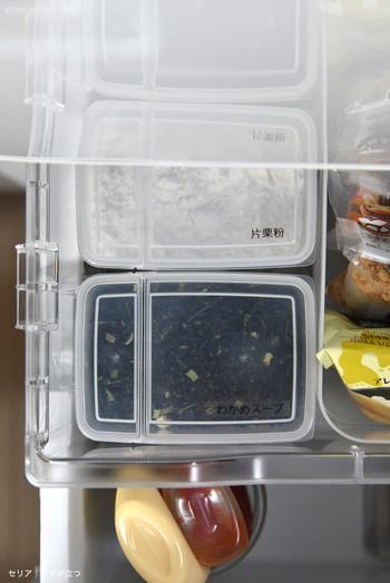 """""""フタが立つ""""という便利な機能だけではなく、野菜室の引き出しにすっきりと収まるコンパクトなサイズ感も魅力です。シンプルで使い勝手の良い保存容器があれば、毎日のお料理がさらに楽しくなりそうですね。"""