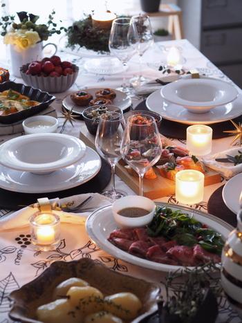 せっかくみんなで集う日に、料理を作ることに気を取られてしまったらもったいない!簡単、おいしい、華やかと3拍子揃ったお手軽レシピで、ホストもゲストもみんなでパーティーをお楽しみください♪