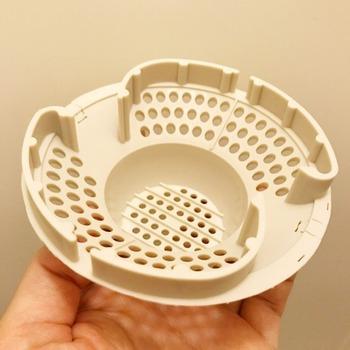 『髪の毛くるくるポイ』をご存知ですか?浴室の排水口に設置すると、ゴミの処理が、簡単・スムーズになる優れものなんです。