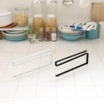 シンプルな作りで、白と黒の2色展開。キッチンの雰囲気に合わせて選ぼう。