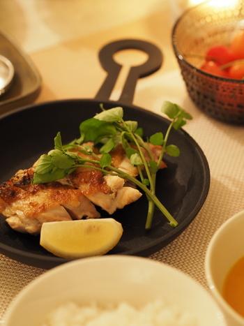 元気を出したい週初めの月曜日は、和風のお肉料理を作ってみましょう。ごはんも進み、満足度の高いお食事にすることができますよ♪
