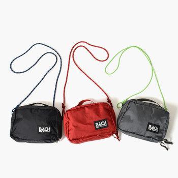コンパクトな見た目がキュート!ショルダーバッグとしてだけでなく、トートバッグやバッグインバッグ、ポーチとしても使えます。