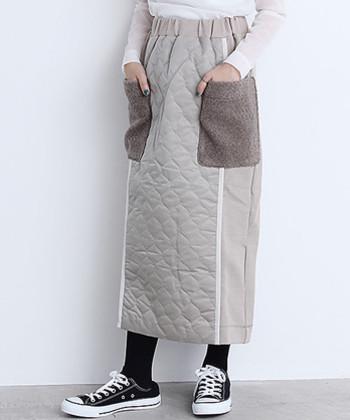 寒くなる秋冬には、暖かさとおしゃれを両立してくれるキルティングスカートは強い味方。ぜひキルティングスカートをゲットして、寒さを感じないスカートコーデを楽しんでみてくださいね♪