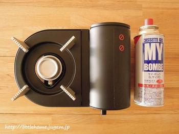 ガスや電気が使えなくなった場合も、ガスコンロがあれば、しばらくはお湯をわかしたり温かい食事を摂ることができます。