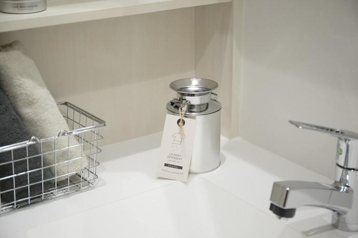 かわいいだけじゃなく、「洗う」という機能にもこだわっているのはクリーニング屋さんならでは使い続けるほどに、繊維に残存した汚れや洗濯槽の汚れも取り除かれていきます。