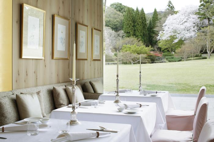 ご紹介した慈光院でのランチや、人気のイタリアンレストランで雅楽を楽しみながらのディナーなどといったグルメ体験もあります。開催期間は2018年11月~3月です。