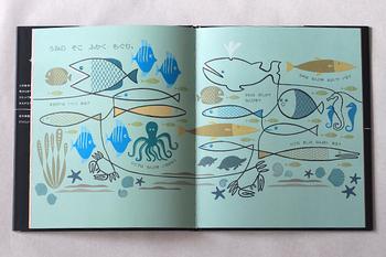 指で線をたどりながら、点と線を繋ぐように読み進めると、不思議と集中力が高まって、心がだんだん和やかな気持ちに。 大人も存分に楽しめる、おしゃれでリラックスできるデザイン絵本。プレゼントにもおすすめな一冊です。