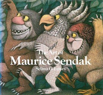 こちらの本は、ニューヨーク、ブルックリン生まれの絵本作家、モーリス・センダックの作品集。 ジャケットにも描かれている『かいじゅうたちのいるところ』などのセンダックの代表作をはじめとした様々な作品が多数収録されています。  センダックは2112年に他界した後も、アメリカ国内はもちろん、今なお影響力のある作家として、世界で評価され今なお多くのファンに愛されています。