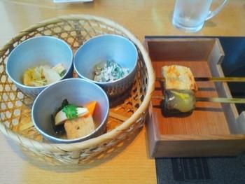 季節を感じられるメニューの数々で、京都ならではのおばんざいの味を楽しめますよ。