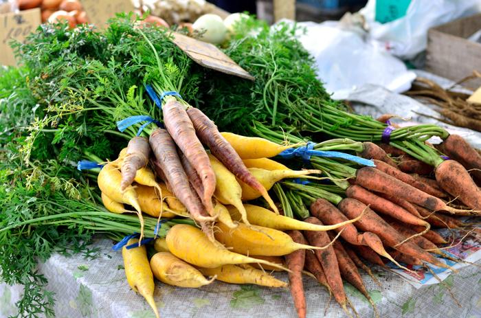 新鮮な鎌倉野菜をお土産に買って帰ることのできる、お料理好きさんには嬉しい場所がこちら。鎌倉駅東口から徒歩約5分の場所にあるので、朝一番に立ち寄ってお目当ての野菜を買ったら、駅のコインロッカーに置いて手ぶらで散策する、なんてのもいいですね。