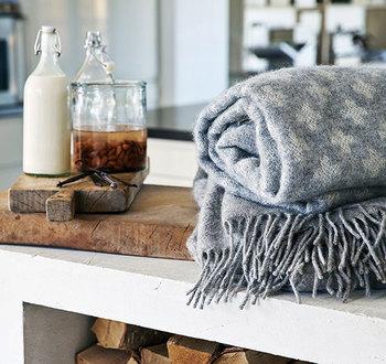 身体を暖かく包み込み、気分をほっとさせてくれる素敵なあったかグッズを揃えて冬支度を楽しみましょう。