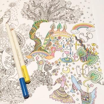 子供用の塗り絵とは異なり、想像力が広がるアートな描写、乙女心をくすぐる可愛いイラスト、有名な作家が手がけたキャラクターなど・・・。下絵のクオリティが高いのが、大きな魅力です。