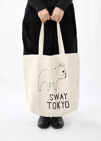 クラスカの大きめトートバッグは丈夫なので、お買い物バッグやママバッグとしてもおすすめ。持ち手が長いので、肩掛けもできますね。  ■2,700円(税込)