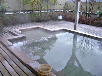 創業が天保7年という、江戸時代から続く老舗旅館。新館は全室源泉露天風呂と内風呂付きと、温泉好きにはたまりません。地場食材で作る自慢の懐石料理も評判です。