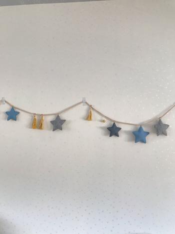 ミニサイズの星をたくさん作って紐を付ければ、ツリーのオーナメントやガーランドも作れます。 紐をLDEライトにしても素敵。