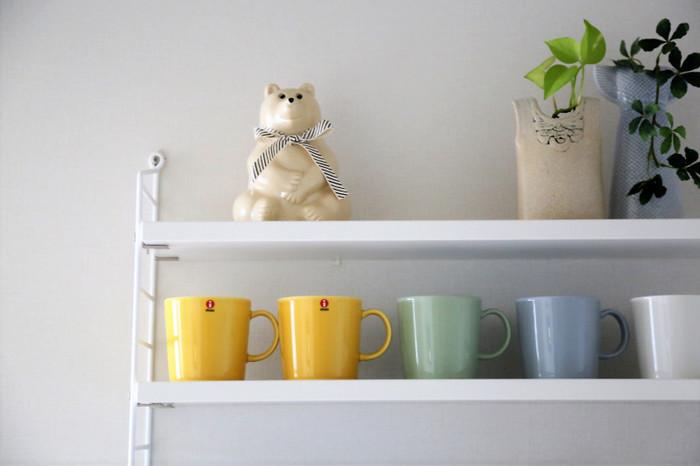 温かい飲み物が恋しくなる季節がくると、マグカップの新作や新色が続々と登場しはじめます。  毎年楽しみに集めていらっしゃる方も多いのではないでしょうか。 いくつあっても並べるだけでインテリア映えするマグカップたち。今年はどんなマグカップをお迎えしましょう?