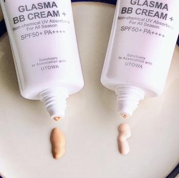 本来なら、化粧下地のあとにコンシーラー、ファンデーションと重ねていきたいところですが、余裕がない日はそれらを一手に担ってくれるBBクリームを活用。補正力の高い化粧下地やコントロールカラーだけを使うという方法も。