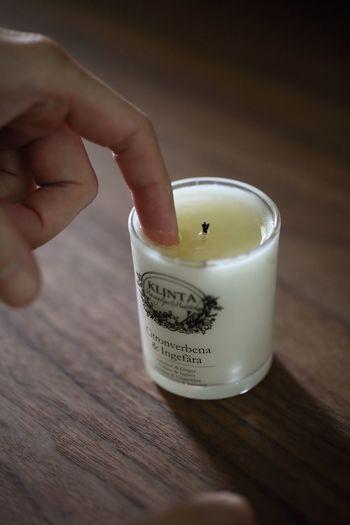 火を消した後に適温になってから、肌に優しく馴染ませます。 乾燥しやすい爪先までしっとり。モチモチな肌を体験できるのだそう。 香りは良質な精油をブレンドした6種類。やさしい自然を感じられる香りです。