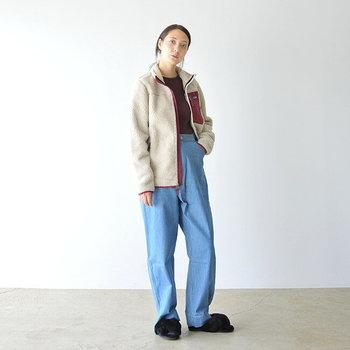 大人気!パタゴニアのレトロXシリーズのボアジャケットは、見つけたら一つは買っておきたいアイテムです。見た目のデザイン性はもちろん、機能性も抜群なので、寒い時期はヘビロテ間違いナシですよ。
