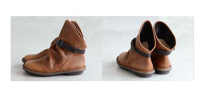 ベルトの長さは、7段階で調節可能。好みの履き心地が楽しめますね。足を通した後に、少しくしゅっとさせて表情をつけると、更にかわいさがアップします♪