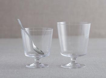 磁器作家のイイホシユミコ氏による「glassシリーズ」は、気取らずちょっとカジュアルに、気軽に楽しめるワイングラスです。