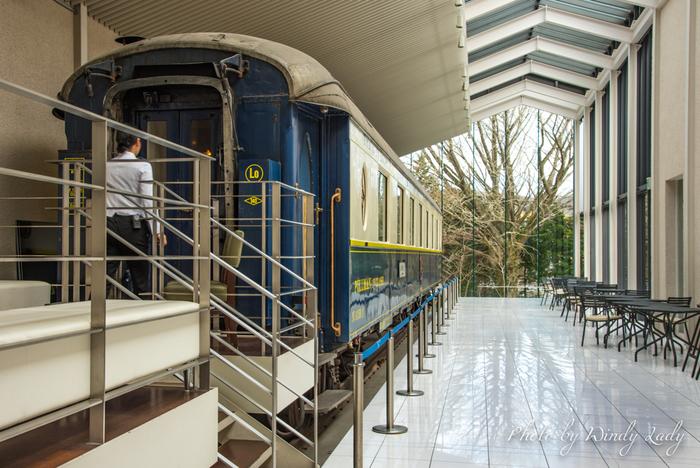 箱根町仙石原にある箱根ラリック美術館。館内にはアール・ヌーヴォーやアール・デコの時代に活躍したフランスの宝飾とガラス工芸作家、ルネ・ラリックの作品が展示されています。  「特別展示 ル・トラン」内にはラリックが室内装飾した豪華列車「オリエント急行」が!この列車を舞台にした小説を書いたアガサ・クリスティ好き、名探偵ポワロ好きなら一度は訪れてみたい美術館です。