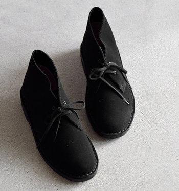 冬の足元は『デザートブーツ』でセンスよく!おしゃれに履きこなすコツとお手入れ方法