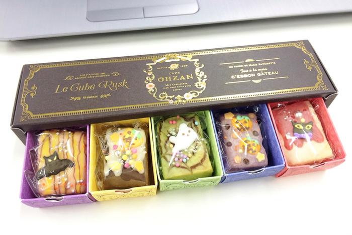 カフェ・オウザン(CAFE OHZAN)は、秋田県にある料亭、櫻山(オウザン)がプロデュースしたスイーツのお店です。なかでの人気商品となっているのが、1つずつ職人さんの手作りにこだわった、かわいい「ラスク」。