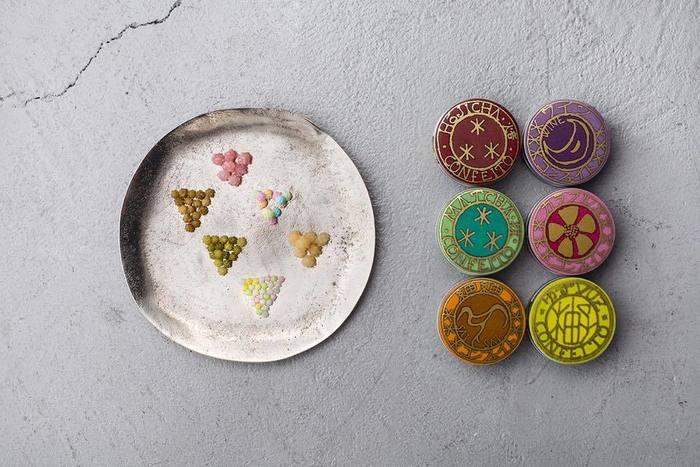 おすすめしたいのは、「宇治園」が出している金平糖ブランド「星果庵」の商品。  星果庵は、パッケージの缶もレトロで、とても素敵なデザインとなっています。7種類の味がありますが、季節によって限定の味も出るのでぜひチェックしてみたいですね。