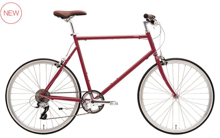 はじめにご紹介するのは、シンプルでおしゃれなデザインと、外装8段変速ギアの高い機能性を備えたスポーツバイク「TOKYOBIKE 26」。ご近所へのちょっとした買い出しから通勤まで、幅広いシーンに活躍してくれますよ。スポーツバイク初心者さんでも気軽に楽しめるこちらのモデル。是非試乗してその軽快さを味わってみてくださいね。