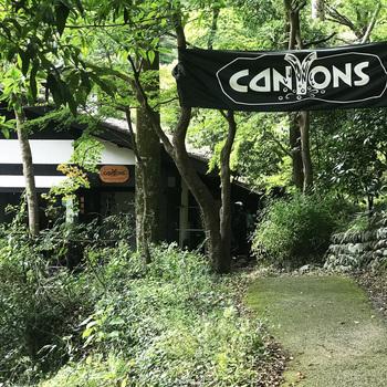 JR青梅線の御嶽駅から約1キロ、歩いて20分ほどのところにある「奥多摩リバーサイドカフェAWA」は、その名の通り多摩川のすぐそばにあるカフェです。