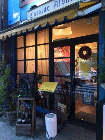 浅草橋駅から徒歩3~4分のところにある「Gentil(ジョンティ)」は、フランスと国境を接するドイツの影響を受けた「アルザス料理」を楽しめる話題のお店です。