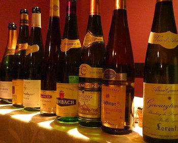 ワインもアルザス地方のものにこだわっています。すっきりした辛口のアルザスワインは、90%以上が白ワインなのが特徴。ワイナリーによって異なる味わいを堪能してみてはいかがでしょうか?
