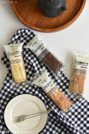 おやつタイムにはもちろん、小腹が空いたときや朝食にも食べやすいのが、不揃いシリーズの「スコーン&ケーキ」です。国産小麦100%で、素材本来の味わいを楽しめます。一口サイズにカットして盛り付ければ、ちょっとしたおもてなしにもぴったり。