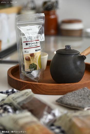 いつものお茶に飽きてしまったら、いろいろなフレーバーを楽しめる「グリーンティー」はいかが? 栗や柚子、レモングラスやジンジャーなど、フレーバーは8種類。ふわっと甘い香りや、すっと爽やかな香りまで、気分に合わせて選んでみて。
