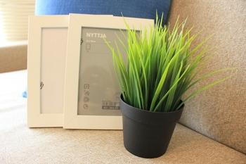 スウェーデン生まれのIKEAといえば、リーズナブルでおしゃれなインテリア小物の宝庫。フェイクグリーンもお手軽な値段で手に入ります。