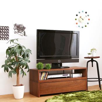スッと伸びたまっすぐな茎と、茂ったグリーンが特徴的な「パキラ」。高さ90センチのSサイズと、160センチのMサイズから選べます。
