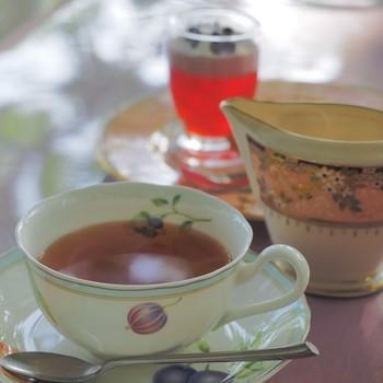 紅茶の種類が豊富。アールグレイやダージリンをはじめ、イングリッシュブレックファーストティーやペパーミントなどさまざまな紅茶の中から、好みの味をセレクトできますよ。