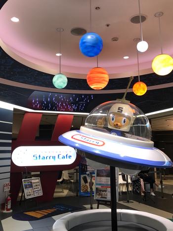 羽田空港・国際線旅客ターミナルビルの5階「COOL ZONE」にある、プロント系列のカフェ。 プラネタリウムの運営は、五藤光学研究所が行っています。星空が見たくてわざわざ羽田まで出向くひとも少なくないとか。