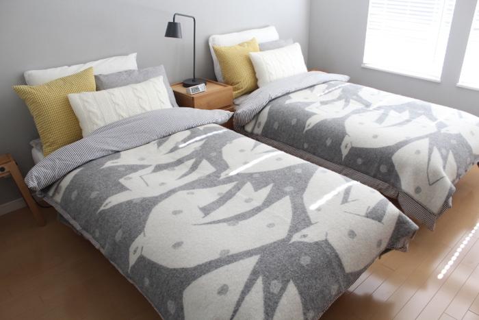 ベッドルームも冬支度。快適な睡眠に導くインテリアのポイント
