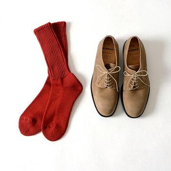 靴下も清潔感を重視して、新年に新調したいところです。せっかくならお正月くらい、いつもよりちょっといい靴下でお出掛けしてみませんか。