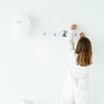 一枚ずつめくってもいいし、壁に飾って楽しんでも素敵です。日めくりカレンダーの楽しみが広がりそうです。