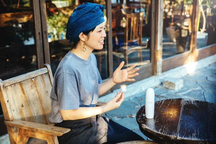 【連載】AYURA×Amorpropio「バランスの良いひと」 Vol.5-カフェ店長・野津ありささん