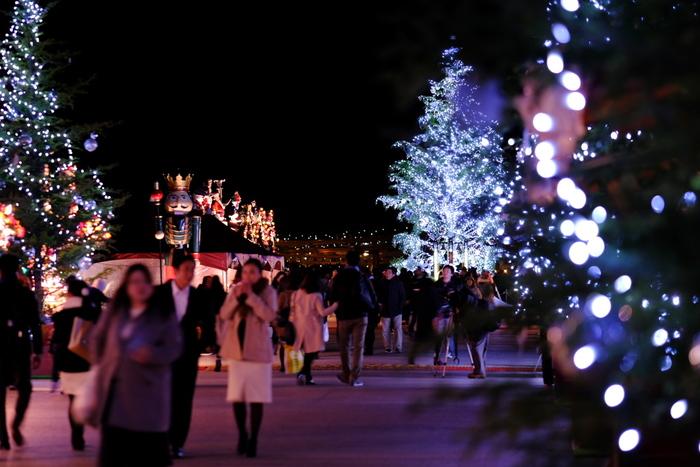 12月に突入し、イルミネーションやツリーなど、街はすっかりクリスマス色に染まってきました。ぜひ休日は、この時期ならではの、クリスマス気分を満喫できる場所に、お出かけしてはいかがでしょう。