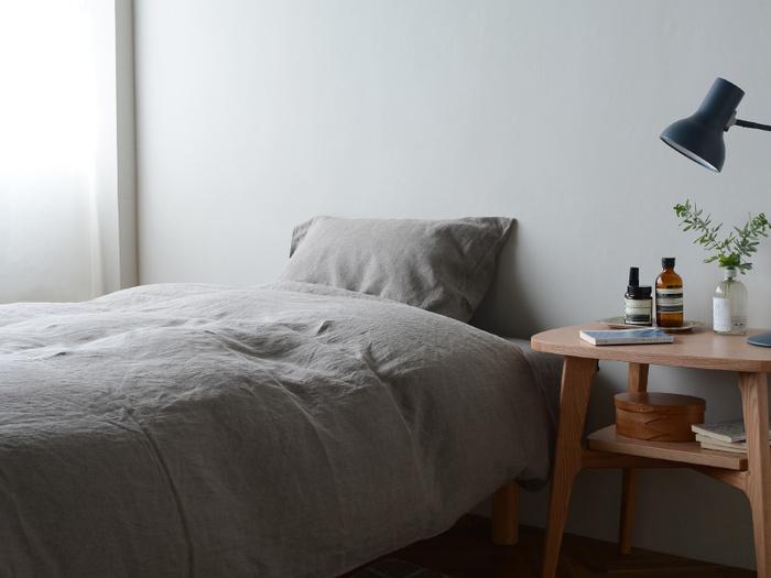 また快適に眠るためには、柔らかな肌触りも重要なポイント。肌に直接触れるものはできるだけ優しい素材を選びたいですね。