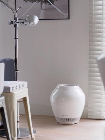 毎日過ごすお部屋に加湿器を取り入れるなら、インテリアになじむデザインを選びたいですね。