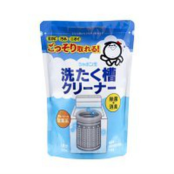 シャボン玉石けんの洗濯槽クリーナーにも、過炭酸ナトリウムが使われています。このクリーナーは、合成界面活性剤を使用していないところが人や地球にやさしいポイント。アルカリ材として重曹も入っています。