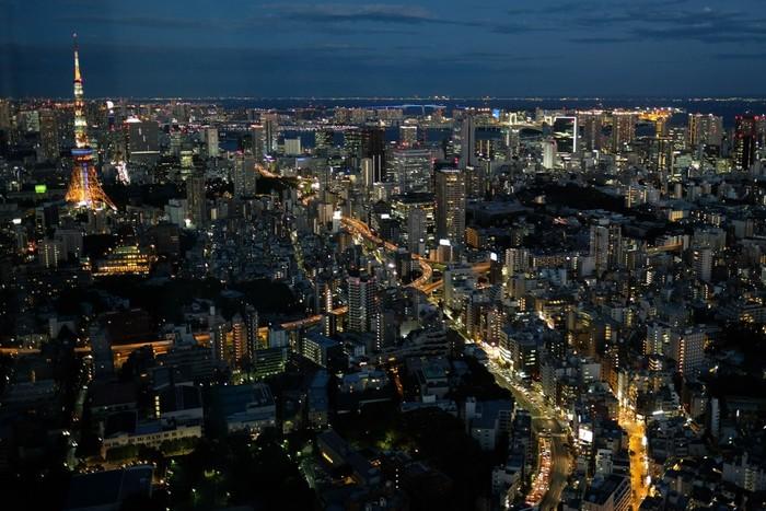 東京タワーと、右手奥にはお台場方面の海が見えますね。 スカイデッキでは、「六本木天文クラブ」という天文イベントも。地上の明かりも素敵ですが、星空を眺めるのもオツなもの。また、同じく六本木ヒルズにある森美術館や、お買い物やレストランでの食事、映画も楽しめるので、たくさん遊んだあとの夜景がおすすめです。 スカイデッキは20:00まで(最終入場19:30)、屋内の展望台は、平日と休日は23:00(最終入館22:30)、金曜・土曜・休前日は25:00(最終入館24:00)までなので、ゆっくり楽しむことができますよ。